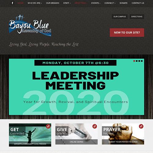 Bayou Blue Assembly of God